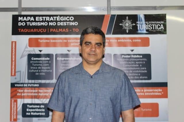 """""""Nosso objetivo é fomentar e valorizar a cultura gastronômica regional"""" - Cristiano Rodrigues, presidente da Agtur (Foto: Tárcia Oreste)"""
