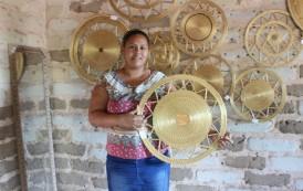 Capim dourado, um ouro de matéria-prima do artesanato do Tocantins