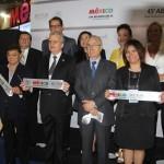 Estande do México é inaugurado na Abav Expo 2017, em São Paulo