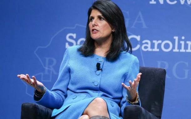 Nikki Haley, embaixadora dos EUA na ONU: