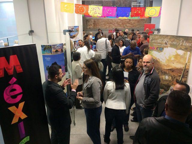 Grande presença de agentes de viagens especializados em vender o México