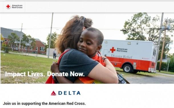 Delta contribui com US$ 250 mil para a Cruz Vermelha em ajuda a Porto Rico e às Ilhas Virgens
