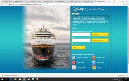 Site: www.disneyagentesdeviagens.com.br - especialmente para o parceiro agente de viagem
