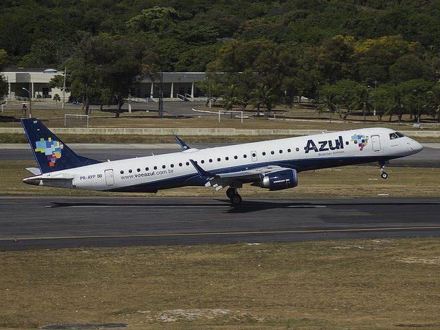 Azul admite 170 pessoas e se reforça em aeroportos do país