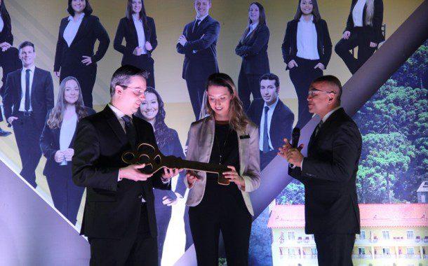Desafio Senac: Alunos no Comando recebem a chave do Grande Hotel Campos do Jordão (RETRO 2017)