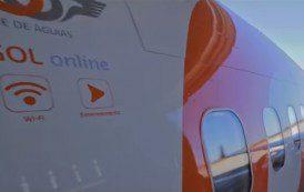 GOL implanta internet a bordo em metade de sua frota