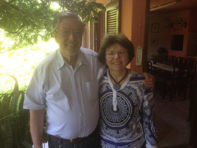 Edmundo e Isa, donos da Geleias Edelweiss (Foto: DT)