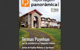 Revista do DIÁRIO sobre o hotel Termas Puyehue pode ser acessada também via plataforma Issuu