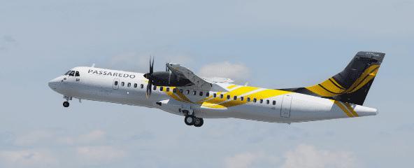 Aeronave Passaredo Linhas Aéreas (Foto: divulgação)