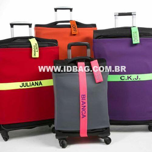 ID* Bag melhora identificação de malas e previne extravios e pequenos furtos