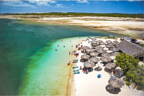 A taxa de ocupação hoteleira no feriado de 2 de novembro girou em torno dos 71,4%. Destaque para Jericoacoara (foto) que ficou em 85% - (Foto: Secretaria de Turismo do Estado do Ceará)