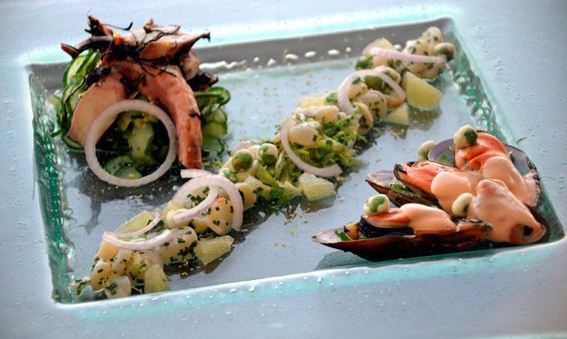 Ceviche de Vieiras e Lagostins é um dos pratos (Foto: divulgação)
