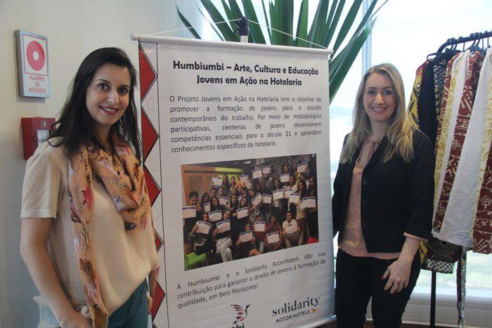 Maria Flávia Andrade e Maria Silvia Andrade: inspiração em Luanda (Angola)