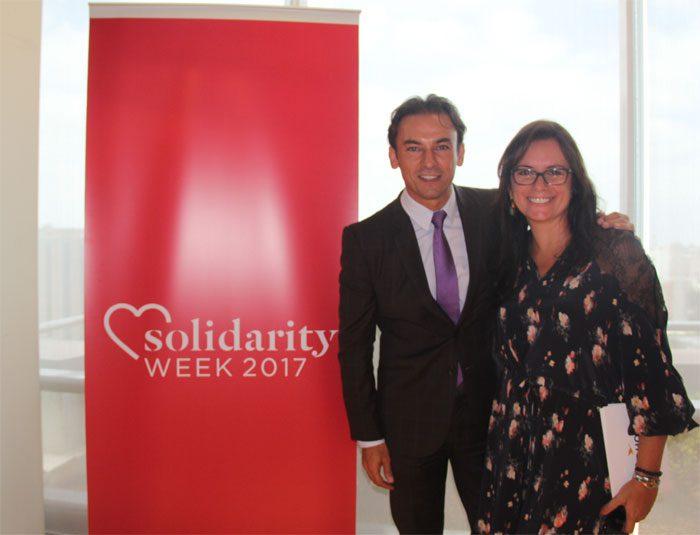 Patrick Mendes (CEO Accor Hotels América do Sul) e Antonietta VArlese (VP de Comunicação e Responsabilidade Social da AccorHotels América do Sul): responsabilidade social em âmbito empresarial
