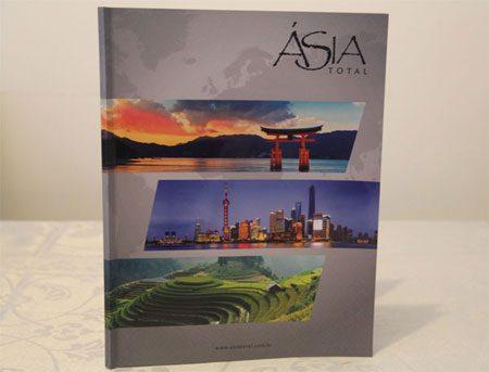 Revista da Asia Total: produto editorial equilibrado