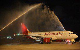 Avianca inaugura voo Recife-Bogotá