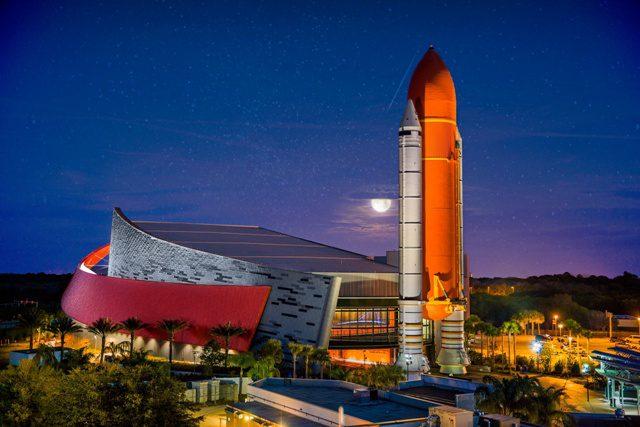 Kennedy Space Center (NASA) agora pode receber o seu evento corporativo