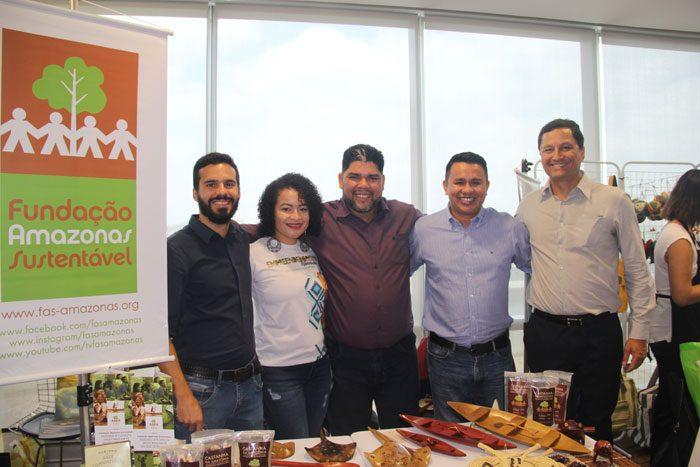 Luiz Villares, Ana Paula Pontes, Alexandre Barbosa, Wildney Mourão e Andre Balesteros