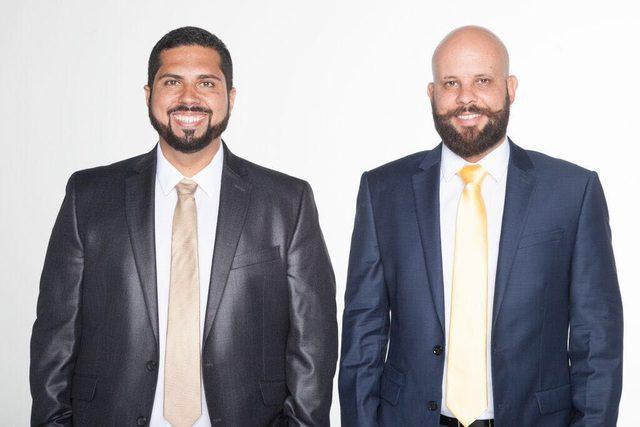 Leo Charamba e Alex Alencar, proprietários do Camila's Restaurant (Foto: divulgação)