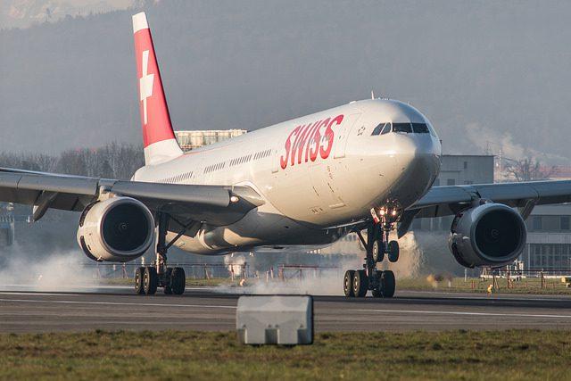 SWISS comemora chegada do Boeing 777-300ER a São Paulo