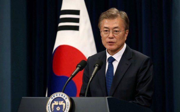 Presidente sul-coreano diz que Trump merece