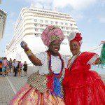 Portos da Bahia recebem os primeiros navios de cruzeiro do ano