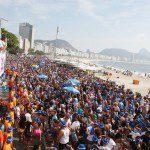 Primeiro fim de semana do ano tem samba e carnaval de rua no Rio de Janeiro