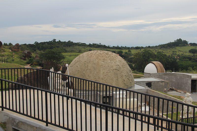 O Planetário e o Jardim das Mitologias serão inaugurados no primeiro semestre deste ano (Crédito: DT)