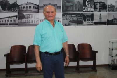 Helio Ney Noleto, diretor do Museu Carolinense