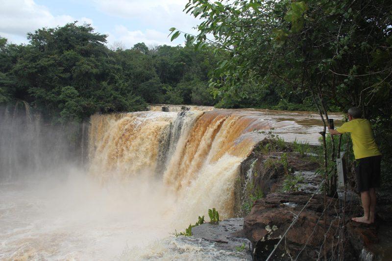 Cachoeira da Prata, localizada no interior do Parque Nacional da Chapada