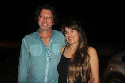 Marcelo e Valéria, da Pousadinha Filhos da Água