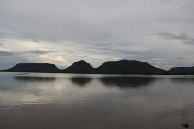 Formação geológicas não dão a mínima para o rio Tocantins, saem do Maranhão e vão para o outro lado do Rio