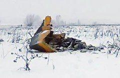 Avião com 71 pessoas a bordo cai na região de Moscou