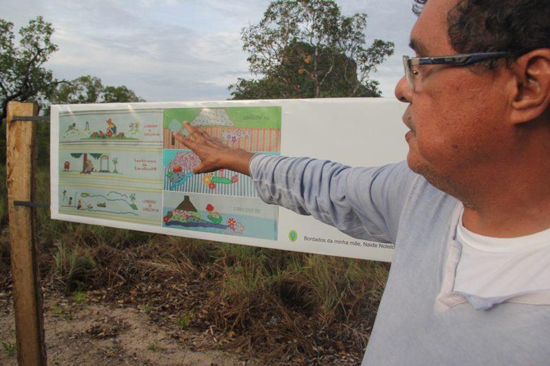 Trilha Postesia é criação pós-moderna no Cerrado de Carolina (MA)