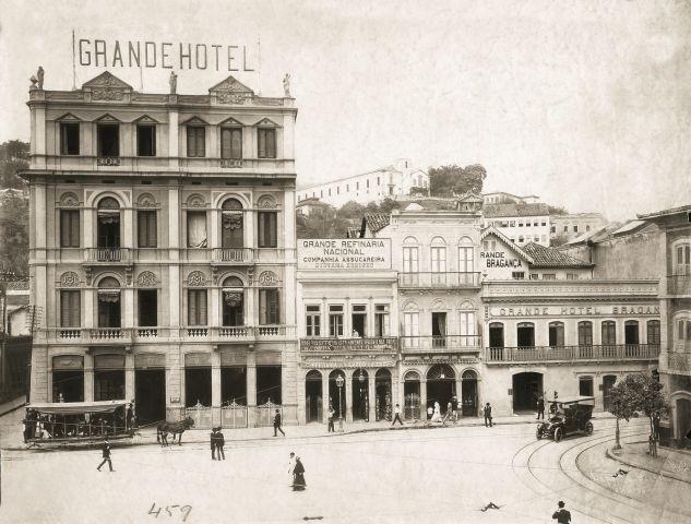O 55RIO era conhecido como Grande Hotel Bragança até um pouco antes das Olimpíadas RIO 2016, quando ganhou uma restauração (Crédito: divulgação/55RIO)