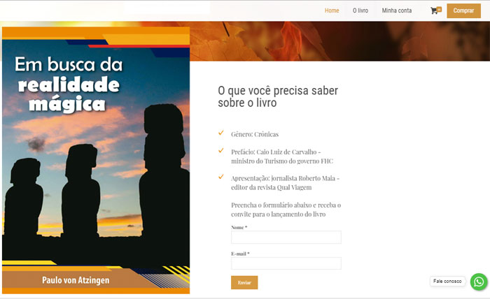 """Livro """"Em Busca da Realidade Mágica"""" já pode ser comprado via e-commerce"""