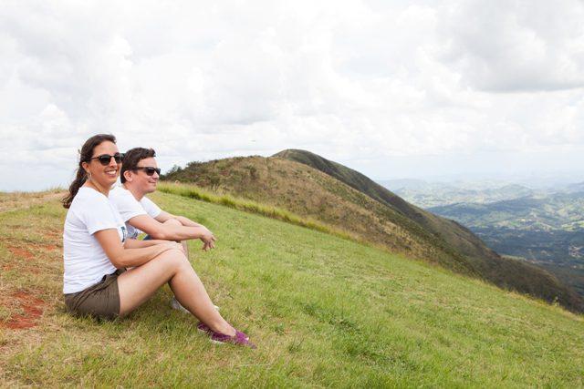 Marden e Luana na Expedição de Turismo de Minas (Crédito: divulgação)