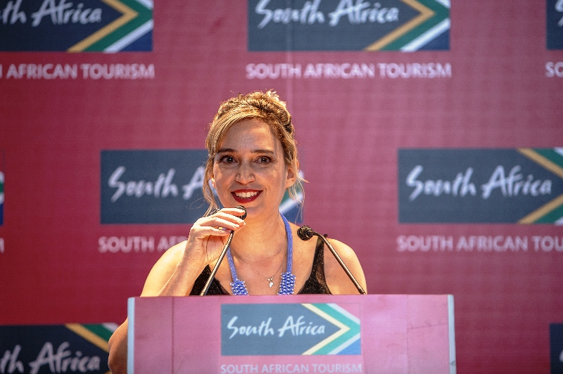 Tatiana Isler, do South African Tourism no Brasil: