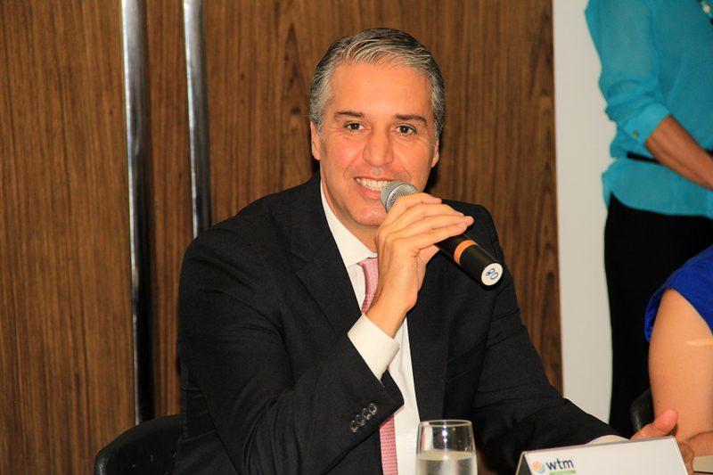 Fernando Fischer, presidente da Reed Exhibition Alcântara Machado (Crédito: Ana Azevedo/DT)