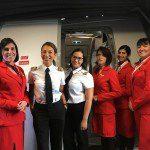 Avianca Brasil faz voos com tripulação só de mulheres