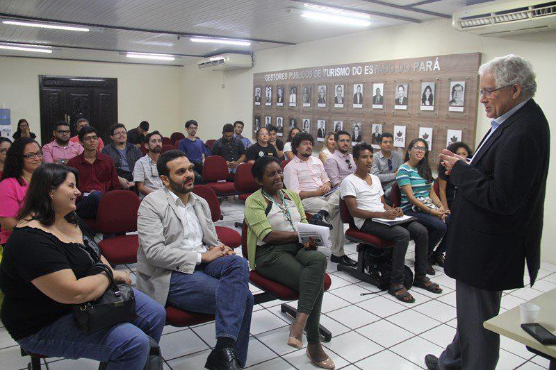 Pará cria o Inovatur e promove palestras de turismo e gastronomia para autores de projetos