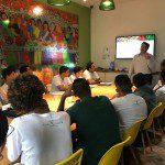 Instituto Capim Santo recebe palestra de Flávio Guersola sobre o mercado de trabalho