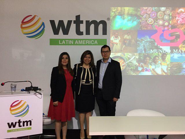 Turismo mexicano apresenta mundo Maia na WTM Latin America