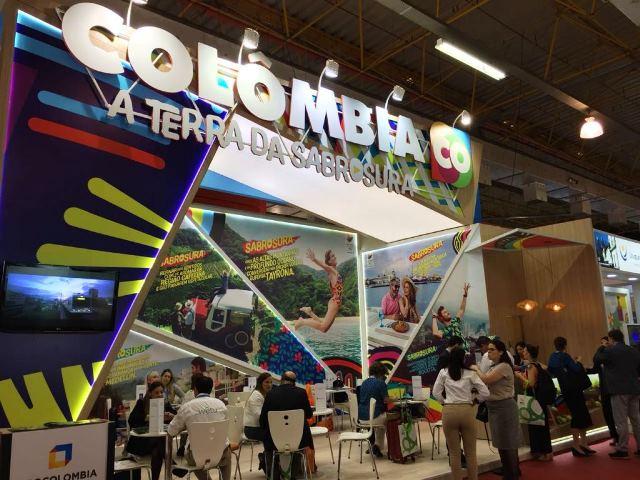 Colômbia mostra polivalência de suas cidades na WTM Latin America