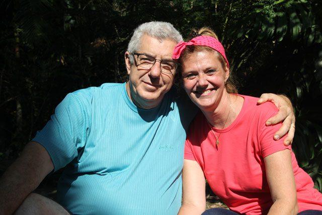 Reinaldo e Zezé Zago, anfitriões