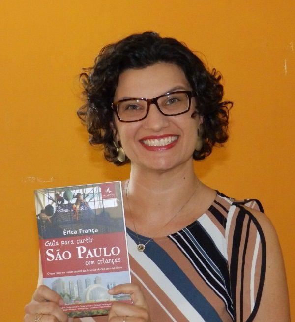 Livro de Érica França mostra o melhor de São Paulo para quem viaja com crianças