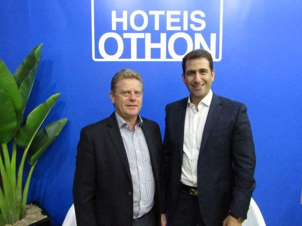 Paulo Michel e Bruno Heleno, da Othon Hotéis