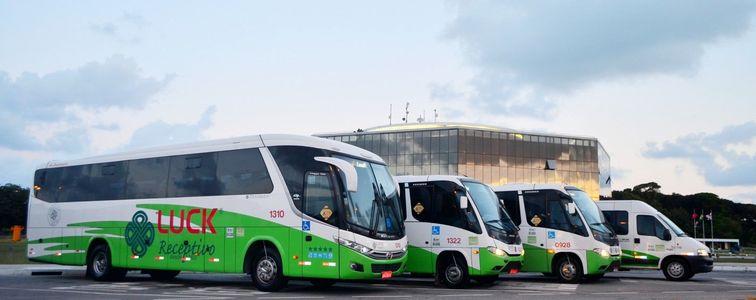 Estrutura receptiva para todos os tamanhos: ônibus, vans e utilitários