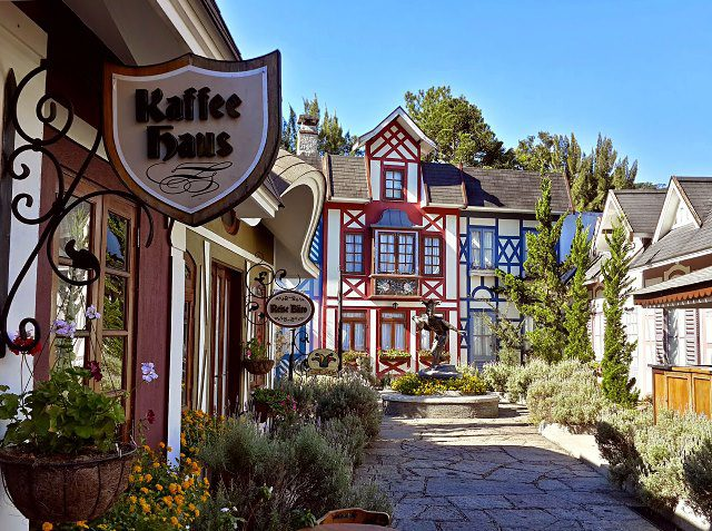 O destaque em Teresópolis é o o Vila St. Gallen, um complexo gastronômico, inspirado na arquitetura do sul da Alemanha (Crédito: divulgação)