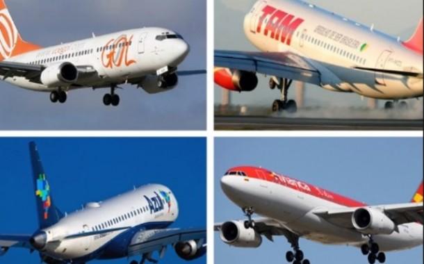 Dados da Anac apontam que mais de 100 milhões de passageiros viajaram de avião nos últimos 12 meses